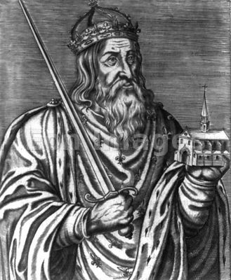 Clovis I king of the Franks