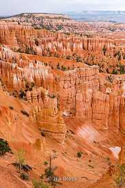 Evening view of Hoodoos in Bryce Canyon National Park.