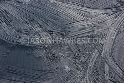 Aerial view of coal at Rugeley Power Station