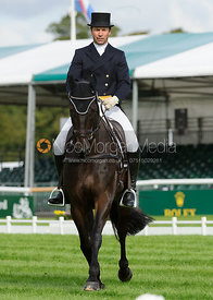 Murray Lamperd and UNDER THE CLOCKS - Burghley 2015