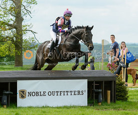 Ginny Howe and INDIAN PRINCE - Rockingham Castle International Horse Trials 2016