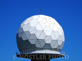 A giant golf ball