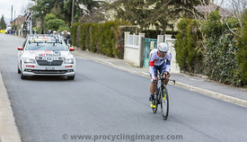 The Cyclist Vicente Reynes Mimo- Paris-Nice 2016