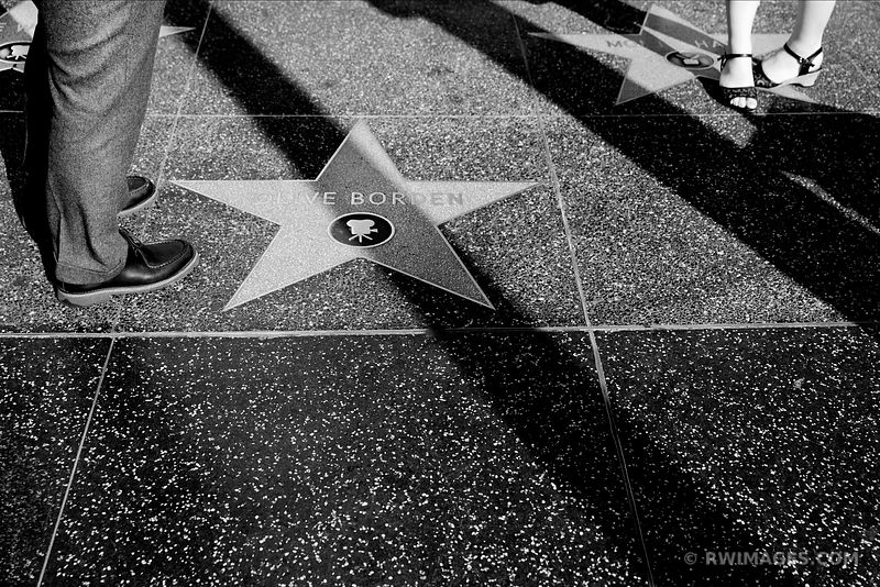 HOLLYWOOD BLACK AND WHITE