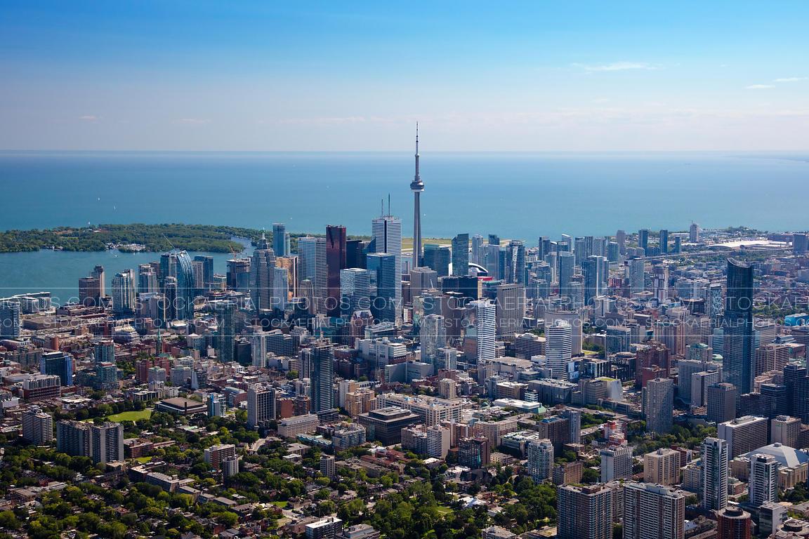 Toronto Islands Created