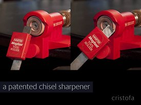 a DIY chisel sharpener designed for Martek