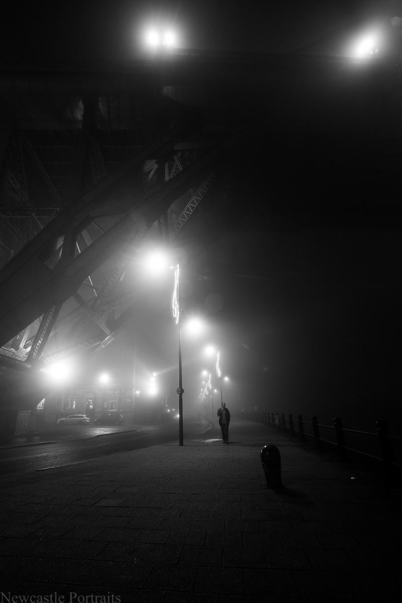 Under the Tyne Bridge
