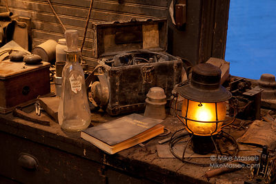 Nevada Northern Railway Lantern series - Electrical shop