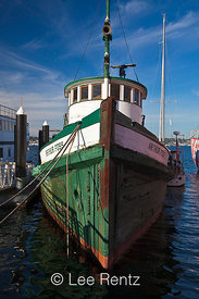 Tugboat Arthur Foss at Historic Ships Wharf in Seattle