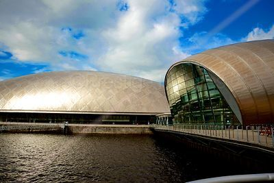 Cineworld IMAX Theatre and the Glasgow Science Centre