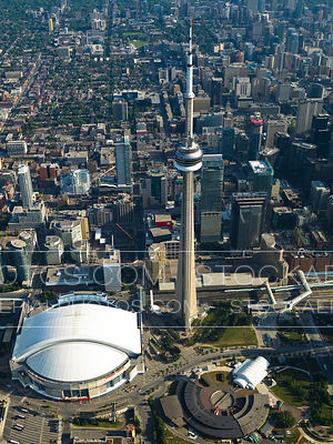 CN Tower and Rogers Center