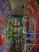CMS detector of Large Hadron Collider at CERN