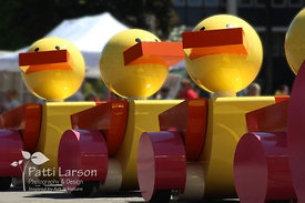 Toy Ducks in Erie Memorial Day Parade