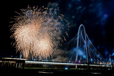 Margaret Hunt Hill Bridge Fireworks #5