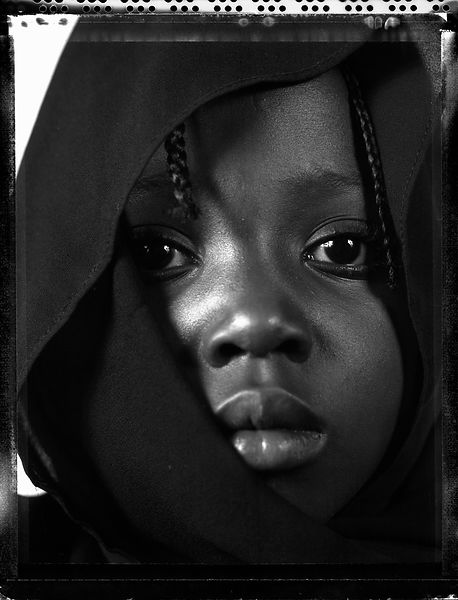 Refugee child from Uganda