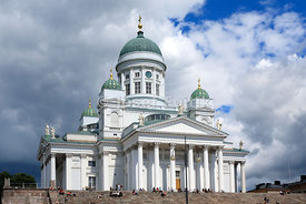 Lutheran Cathedral, Senate Square, Helsinki, Finland