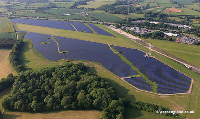 Solar Farm at former RAF Membury