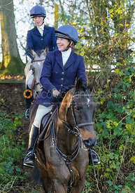 Clare Bell - The Cottesmore Hunt at Owston 29/11