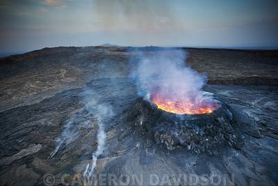 Ethiopia: The Erta Ale Volcano and Danakil Depression aerials