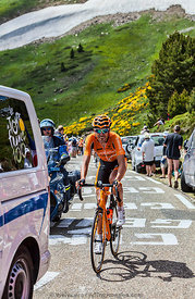 The Cyclist Mikel Astarloza - Tour de France 2013