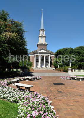 Perkins Chapel on the SMU (Southern Methodist University) campus