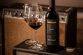 Styled wine photography for Lede Family Wines in Yountvllle, California by Jason Tinacci