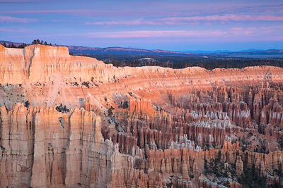 First Light at Bryce Point
