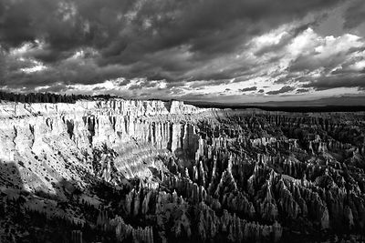 Bryce Canyon Sunrise - Monochrome