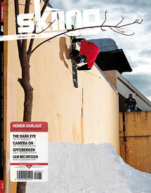Couverture Skiing Magazine - Sandy Collet