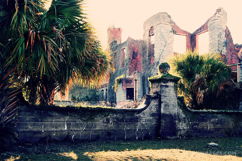 RUINS OF DUNGENESS MANSION ON CUMBERLAND ISLAND GEORGIA