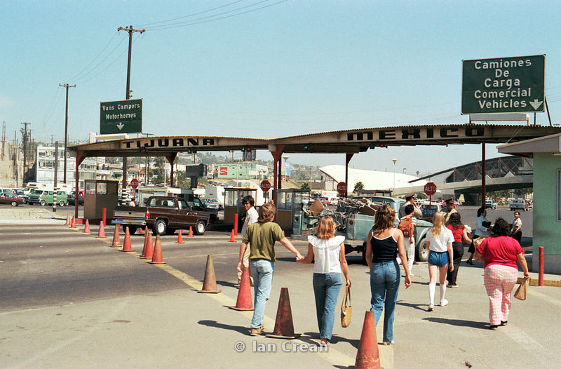 USA border at Tijuana, Mexico