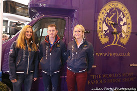 Scott Brash at HOYS