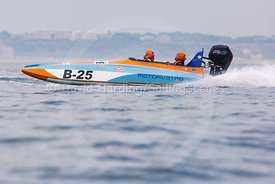 Motorvated, B-25, Fortitudo Poole Bay 100 Offshore Powerboat Race, June 2018, 20180610209
