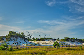 St. Georges Island, FL, Dunes View