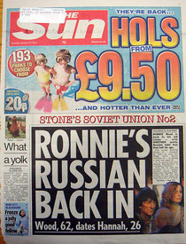 The Sun 12 January 2010 – Front Page.2794319 – Steven Paston.