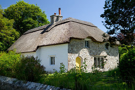 Thatched Cottage, Merthyr Mawr, Bridgend, South Wales. UK.