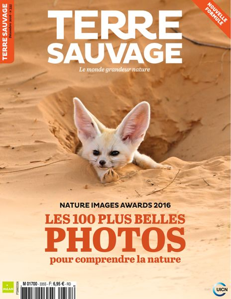 Terre Sauvage Magazine (France) - Dec 2016 photos