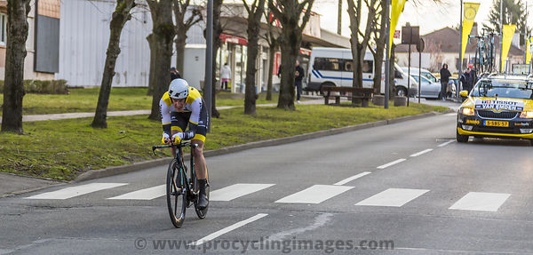 The Cyclist Jos van Emden - Paris-Nice 2016