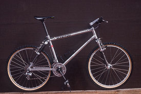MANITOU BIKE 1991 DESIGNED BY DOUG BRADBURY ONE OF THE EARLIEST MTB FULL SUSPENSION BIKES