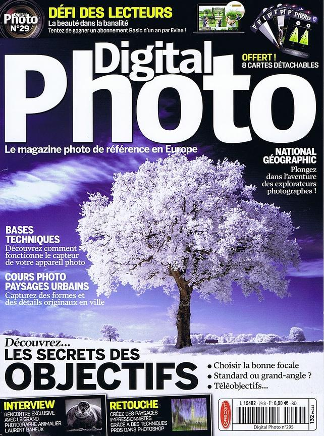 Portfolio Ice is Black dans Digital Photo magazine num 29