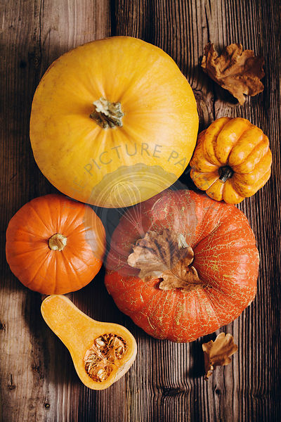 Assorted pumpkins