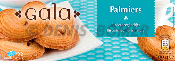 Packaging PALMIERS