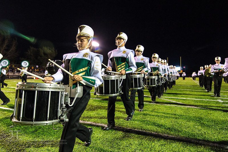 P-C Iowa City West Marching Band Uniforms, October 3, 2014 photos