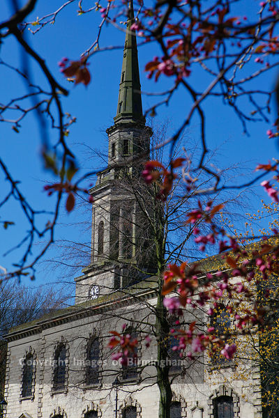 St Pauls Church in the Jewellery Quarter of Birmingham, West Midlands, England.