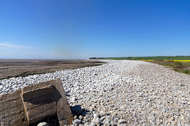 Aberthaw Beach, The Glamorgan Heritage Coast, Vale of Glamorgan, South Wales, UK.