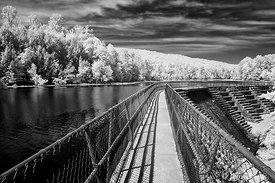 Bays Mountain, Kingsport, Tennessee, Infrared