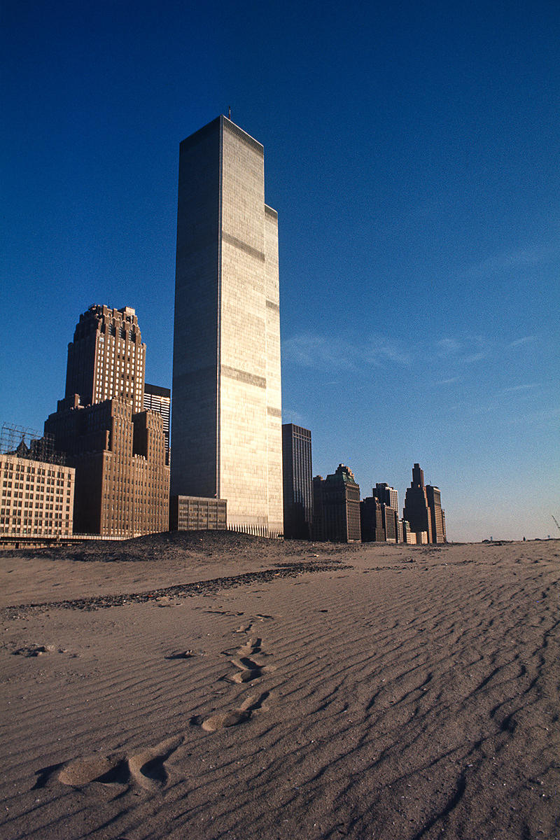 New-York, U.S.A (1977) - World Trade Center. Édition de 15 ex.