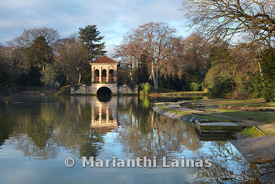 Birkenhead Park in winter