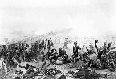 Battle of Lundy's Lane during War of 1812