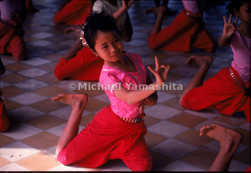 Reviving centuires-old traditions all but lost in the Khmer Rouge's campaign of terror, the school of Fine Arts in Phnom Penh, Cambodia trains a new generation of classical dancers.